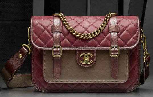Chanel - CHANEL QUILTED SATCHEL-LIKE FLAP BAG Replica