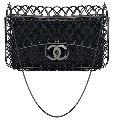 wpid chanelss13 classic flap cage - Chanel S/S13 Classic Flap Cage