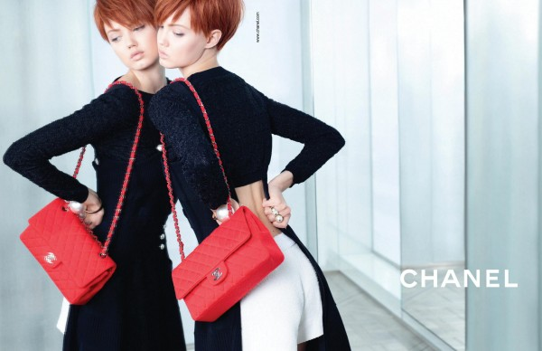 wpid Chanel Spring Summer 2014 Ad Campaign More Photos 4 600x388 - New Chanel Act 2 Bags in the Campaign Photos for Spring / Summer 2014