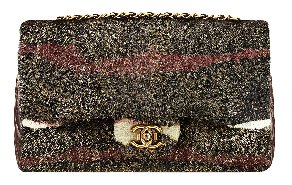 wpid Chanel Calf Hair Flap Bag - Chanel's Texas-Inspired Metiers d'Art 2014 Handbags Have Arrived