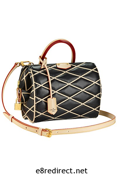 Louis Vuitton Black Losange Doc BB Bag Fall 2014 2 - Replica Louis Vuitton Fall/Winter 2014 Bag Names and Prices