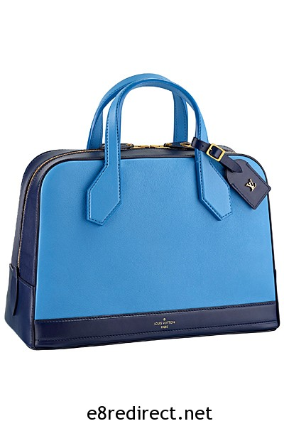 Louis Vuitton Blue Neo Marceau Bag Fall 2014 - Replica Louis Vuitton Fall/Winter 2014 Bag Names and Prices