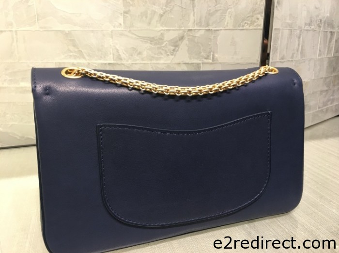 Chanel Navy with Medals 2.55 Nude Bag 2 700x522 - Chanel 2.55 Smooth Nude Flap Bag From Pre Fall 2016 Collection