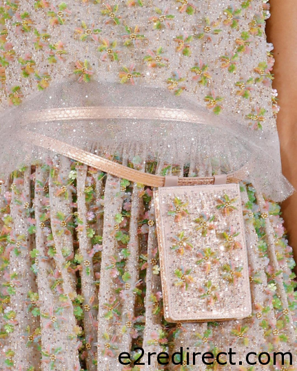 Chanel Pink Multicolor Beaded Belt Bag - Chanel Spring Summer 2016 Haute Couture Pouch