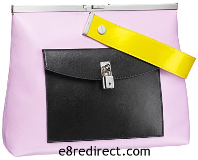 Dior Pouch with Front pocket - Replica Lady Dior Tote Bag with Pocket 2014