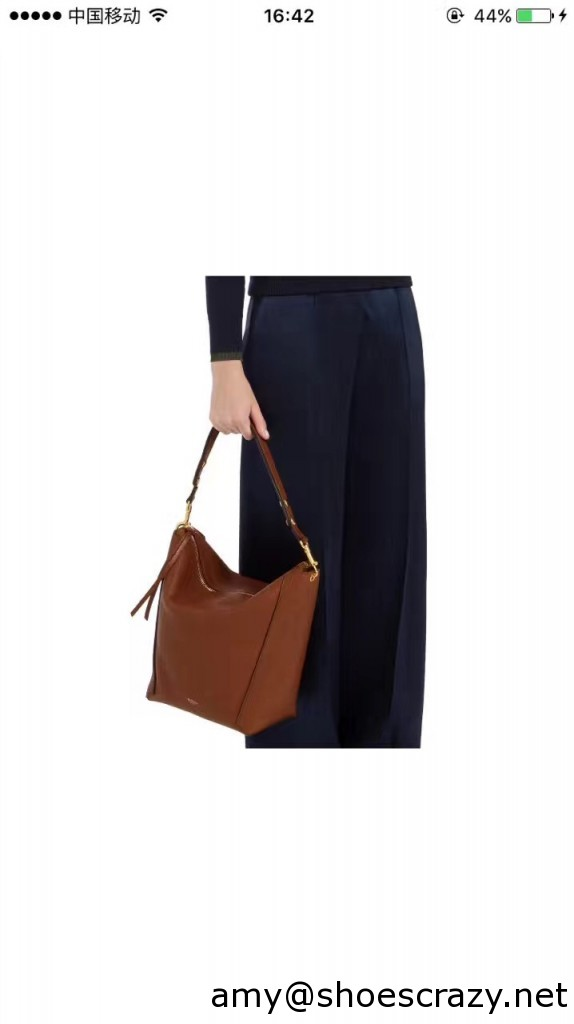 IMG 0407 574x1024 - Mulberry Natural Leather Camden Hobo Bag 2017