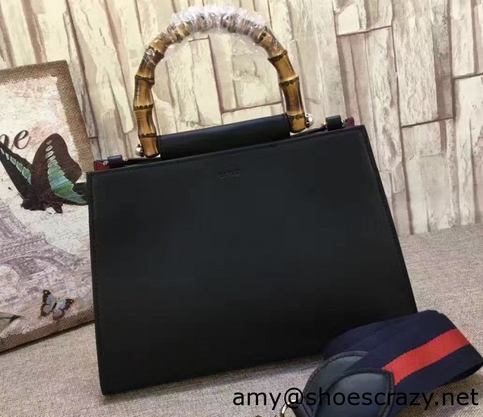 IMG 0568 cr 700x604 - Gucci Nymphaea Leather Top Handle Bag 2016