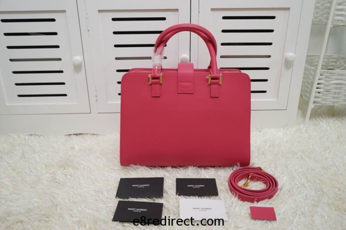 IMG 0664 700x467 - Saint Laurent Cabas Monogram Top Handle Small Bag 357395B Leather 2014 Available