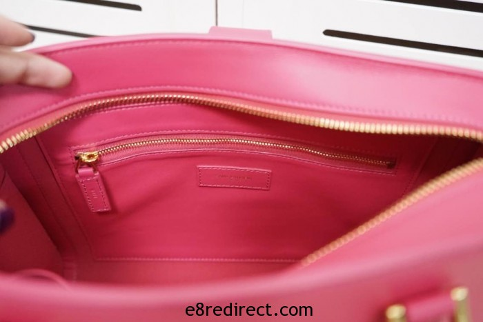 IMG 0671 700x467 - Saint Laurent Cabas Monogram Top Handle Small Bag 357395B Leather 2014 Available