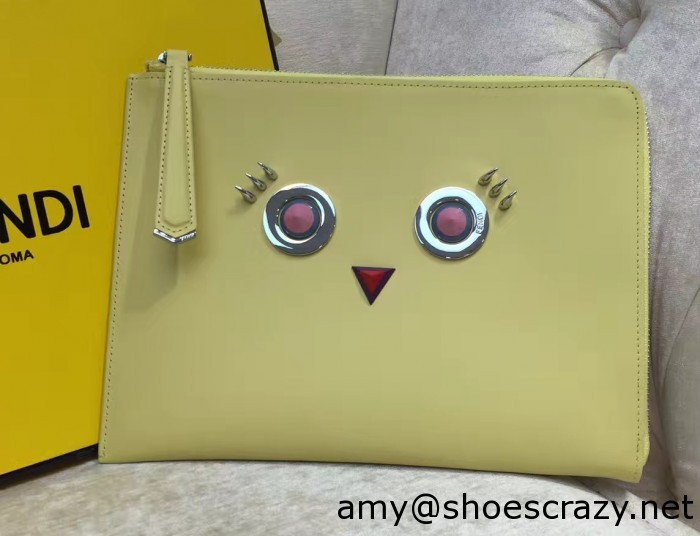 IMG 0908 cr1 700x536 - Fendi Multicolored Metal and Square Eyes Bag 2017