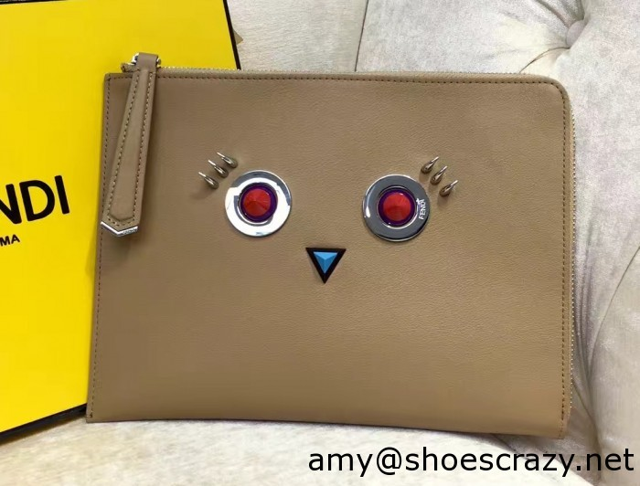 IMG 0915 cr 700x532 - Fendi Multicolored Metal and Square Eyes Bag 2017