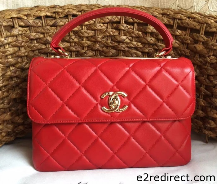 IMG 1427 cr 700x593 - Chanel Lambskin Trendy CC Dual Handle Flap Tote Bag