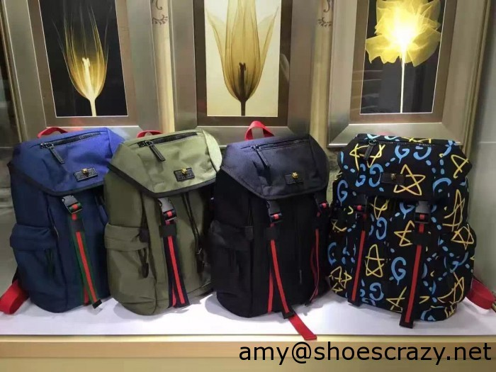 IMG 1859 700x525 - Gucci Techno Canvas Techpack Backpack Bag 2016