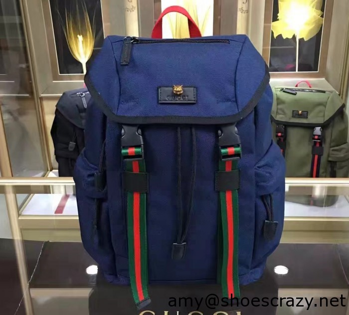 IMG 1860 cr1 700x631 - Gucci Techno Canvas Techpack Backpack Bag 2016