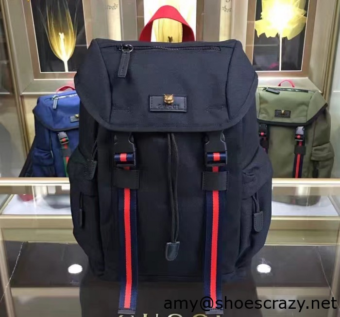 IMG 1877 cr 700x654 - Gucci Techno Canvas Techpack Backpack Bag 2016