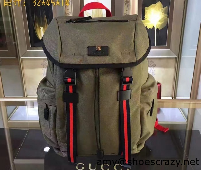 IMG 1905 cr 700x594 - Gucci Techno Canvas Techpack Backpack Bag 2016