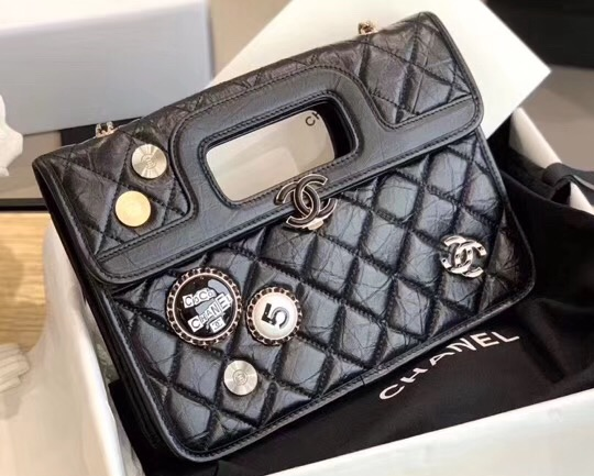 IMG 200426a 21 cr - Chanel Aged Calfskin Bag with Charms 2020