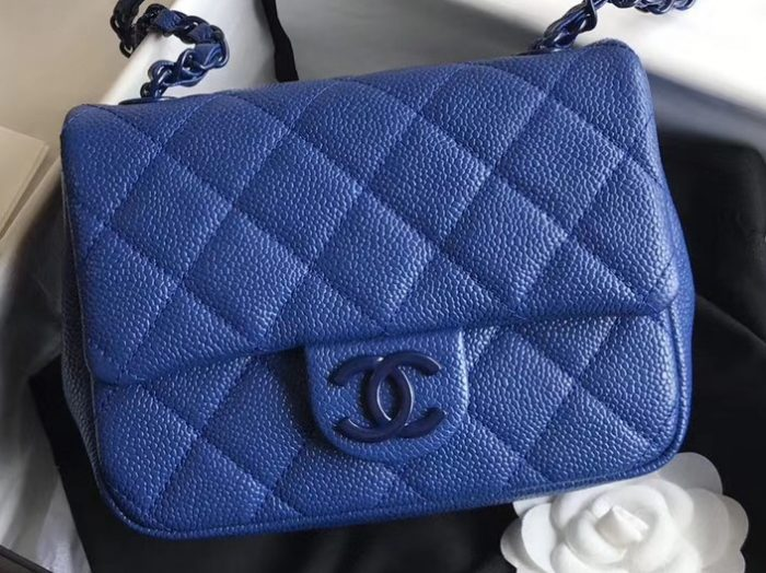 IMG 200426a 97 cr 700x524 - Chanel Matte Hardware Grained Calfskin Flap Bag AS1784 2020