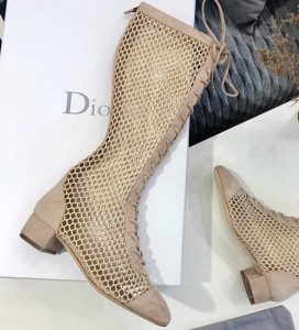 IMG 200615a 960 cr 272x300 - Dior Naughtily-D Mesh Boots in Suede Calfskin