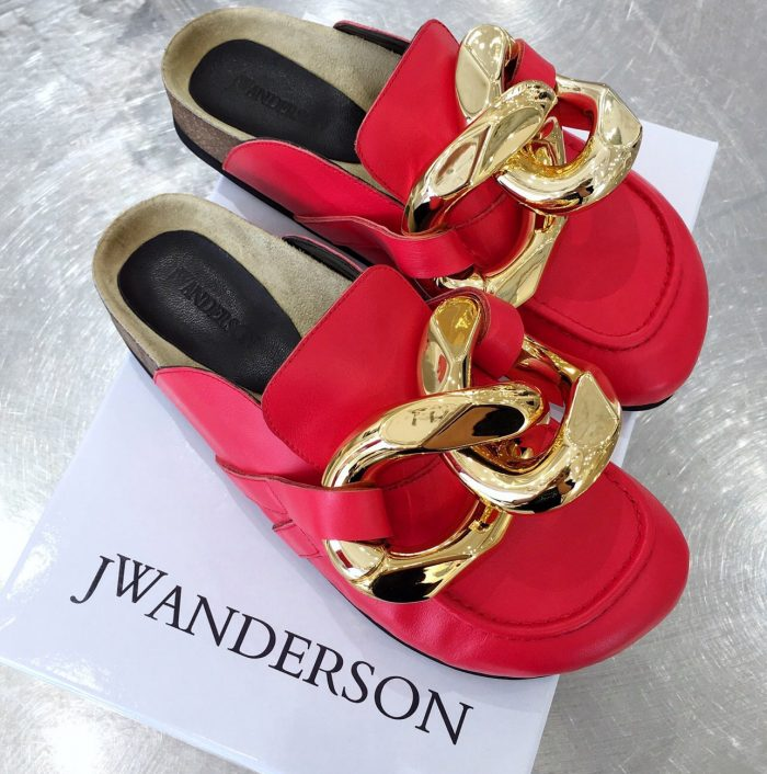 IMG 200902h 32 cr 700x706 - JW Anderson Chain Loafer Mules