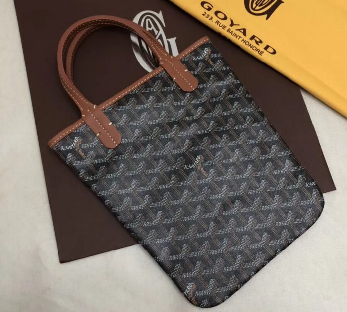 IMG 3314 cr 2 700x629 - Goyard Limited Edition Poitiers Tote Bag