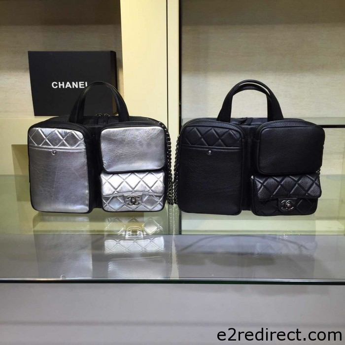 IMG 4035 700x700 - Chanel Calfskin Briefcase Tote Bag 2015/2016
