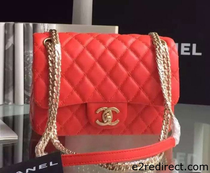 IMG 4087 cr 700x577 - Chanel Embroidery with Gold Thread Classic Flap Bag 2015
