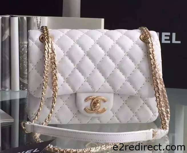 IMG 4096 cr - Chanel Embroidery with Gold Thread Classic Flap Bag 2015