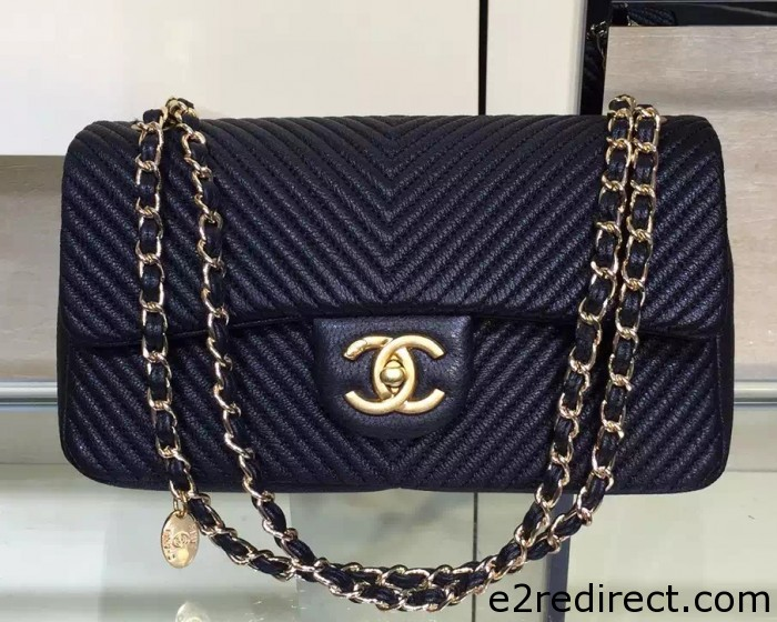 IMG 4098 cr 700x560 - Chanel Chevron Quilting Lambskin Classic Flap Bag 2015/2016