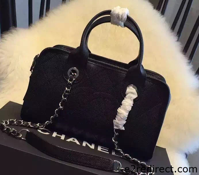 IMG 4144 cr - Chanel Leather Shopping Tote Bag Fall Winter 2015 Sale