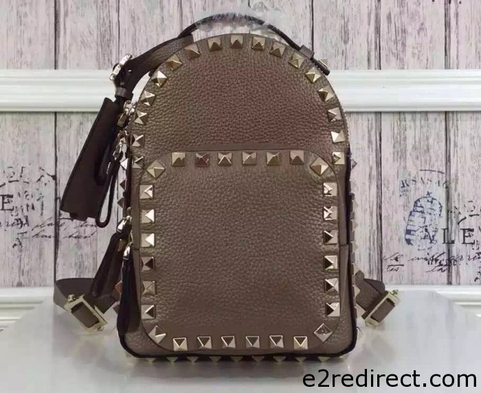 IMG 4148 cr 700x571 - Valentino Grained Leather Rockstud Backpack 2016
