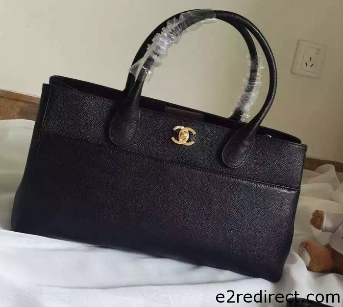 IMG 4163 cr 700x628 - Chanel Leather Shopping Tote Bag Fall Winter 2015 Sale
