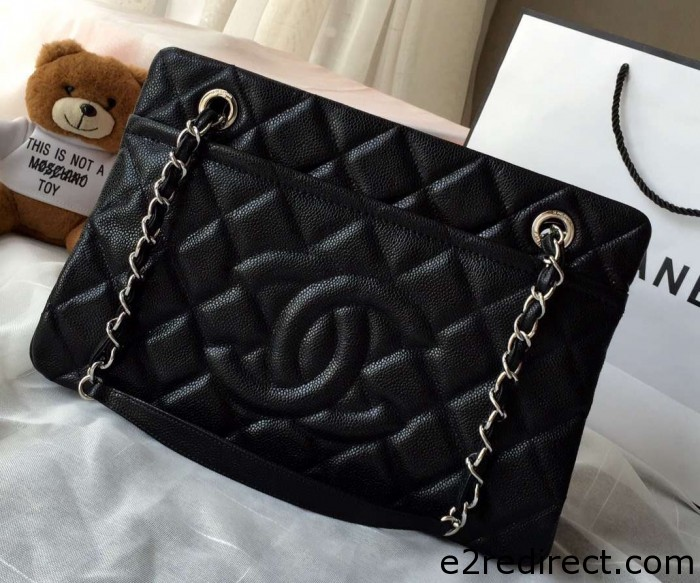 IMG 4195 cr 700x583 - Chanel Leather Shopping Tote Bag Fall Winter 2015 Sale