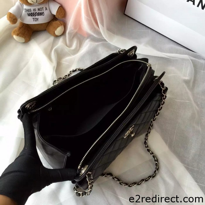 IMG 4210 700x700 - Chanel Leather Shopping Tote Bag Fall Winter 2015 Sale