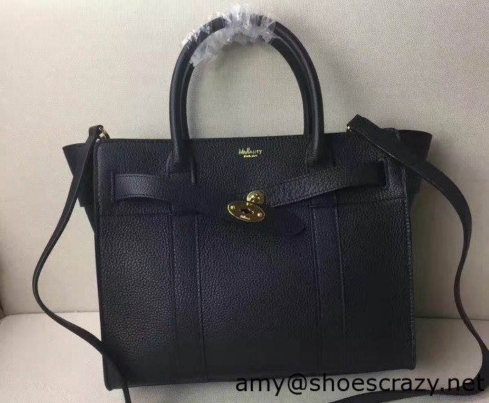 IMG 5787 cr 700x577 - Mulberry Natural Grain Leather Small Zipped Bayswater Bag 2016