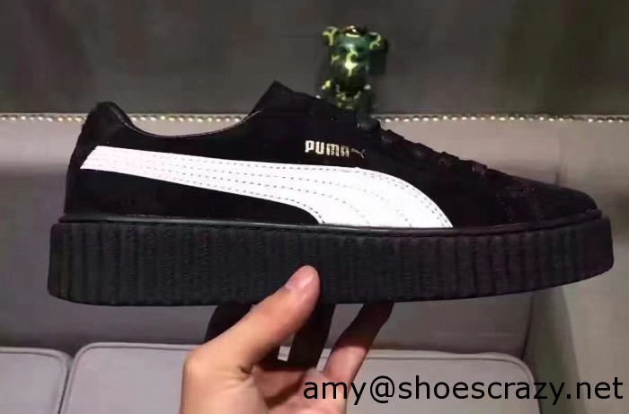 IMG 5890 cr2 700x461 - Fenty Puma Suede Creeper Lovers Sneakers by Rihanna 2016