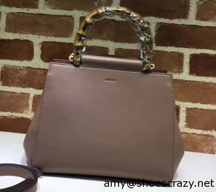 IMG 6170 cr 700x623 - Gucci Nymphaea Leather Top Handle Bag 2016