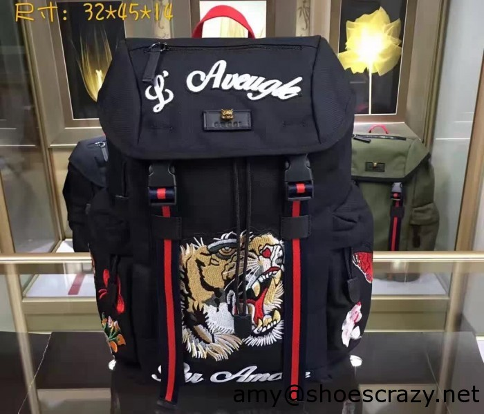 IMG 6829 cr1 700x599 - Gucci Techno Canvas Techpack Backpack Bag 2016