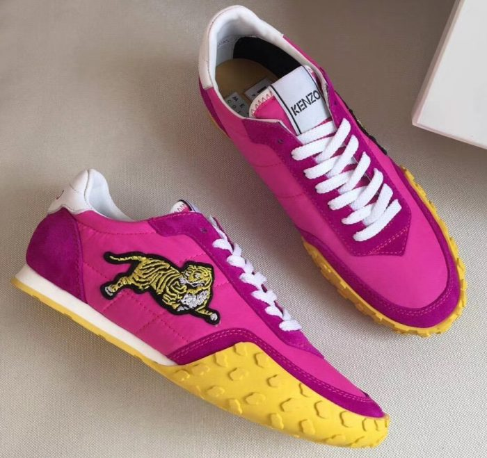 IMG 6942 cr 1 700x659 - Kenzo Vintage Tiger Move Lovers Sneakers 2018