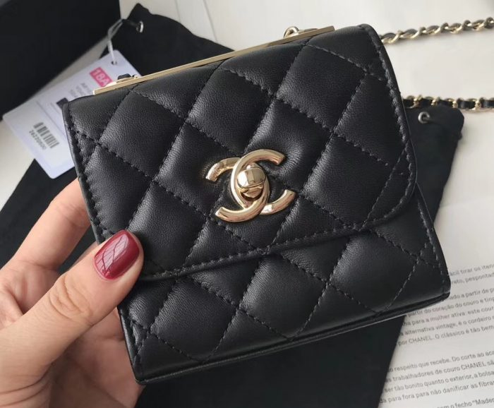 IMG 81122a 46 cr 700x578 - Chanel Trendy CC Mini Clutch with Chain Bag A81633 2018