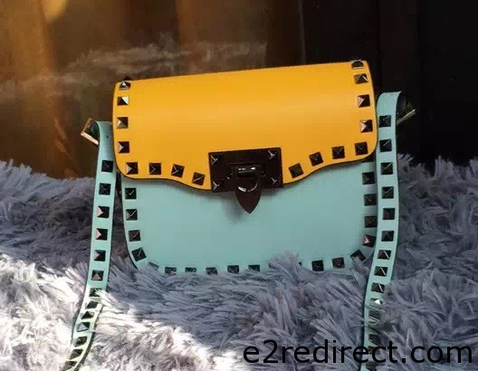 IMG 8161 cr - Valentino Rockstud Round Flap Shoulder Small Bag 2015/2016