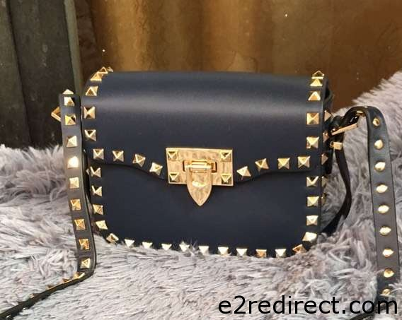 IMG 8195 cr - Valentino Rockstud Round Flap Shoulder Small Bag 2015/2016