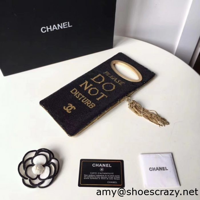 IMG 8251 1 700x700 - Chanel Sequins Clutch Bag A98677 2017
