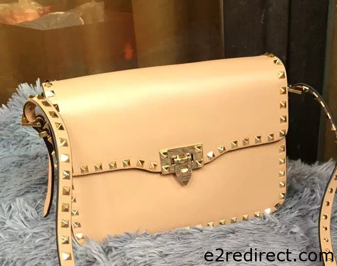 IMG 8290 cr - Valentino Rockstud Round Flap Shoulder Small Bag 2015/2016