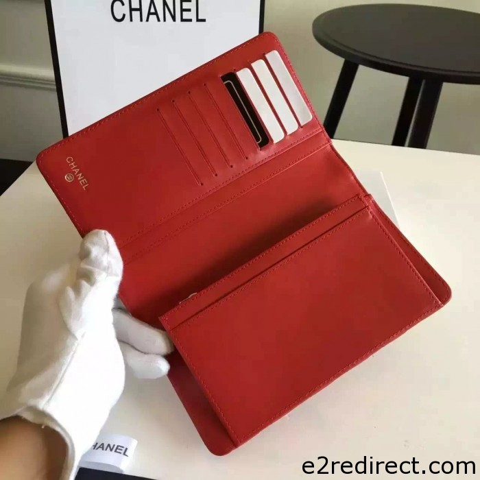 IMG 85582 700x700 - Chanel Lambskin CC Signature Quilting Wallet 2016