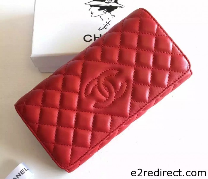 IMG 8571 cr 700x602 - Chanel Lambskin CC Signature Quilting Wallet 2016