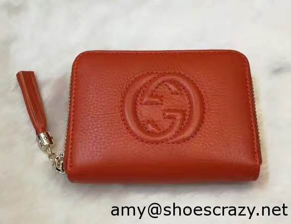 IMG 8810 cr - Gucci Soho Leather Disco Small Wallet 351484