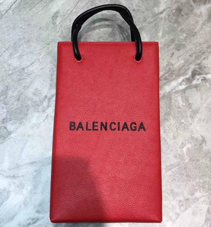 IMG 90520a 171 cr 700x755 - Balenciaga Grained Leather North-South Mini Shopping Tote Cup Bag 2019