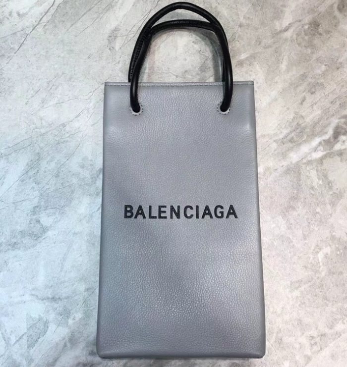 IMG 90520a 647 cr 700x741 - Balenciaga Grained Leather North-South Mini Shopping Tote Cup Bag 2019