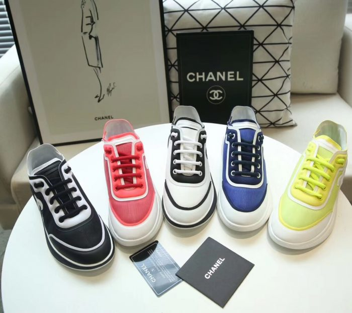 IMG 90626a 65 700x622 - Chanel Mesh and Lycra Sneakers G34763 2019